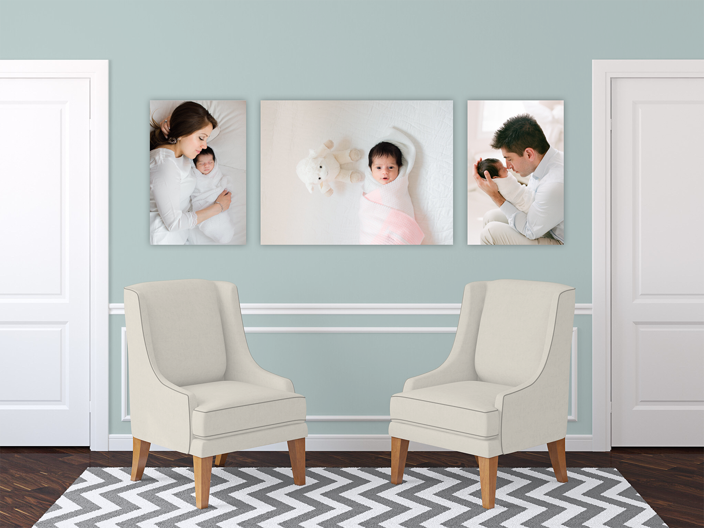 decorating home with wall art