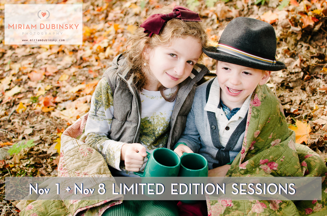 Limited Edition Fall Sessions – NJ Family Photographer