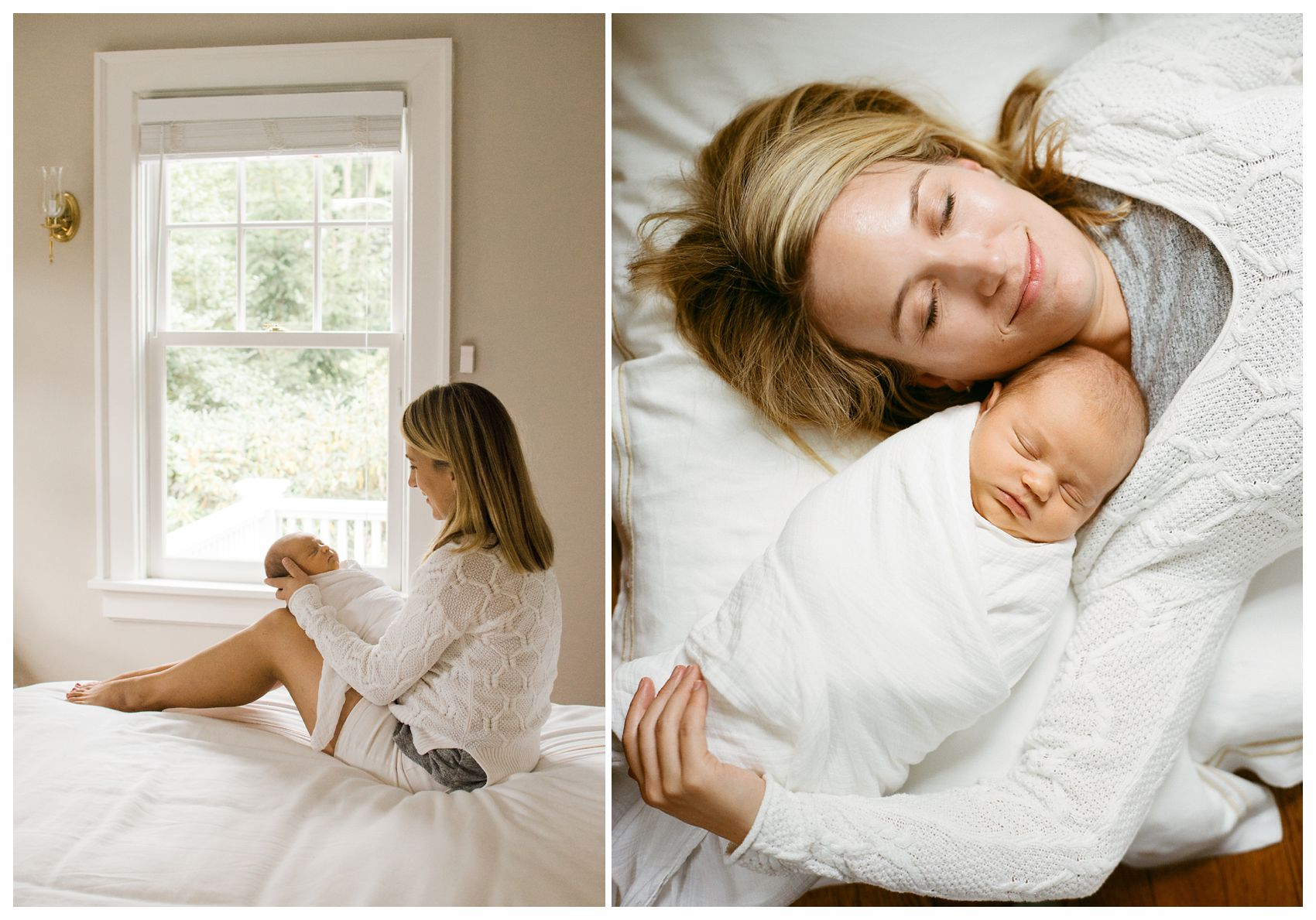 a photo of a mom snuggled with her baby girl makes it a great gift idea